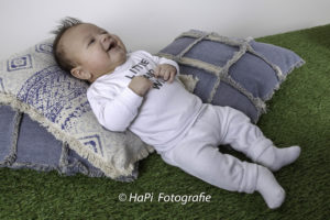Babyshoot in de studio